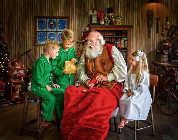 Santa's Magical Workshop Experience